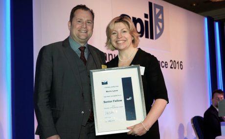 Muiris Lyons awarded APIL Senior Fellowship