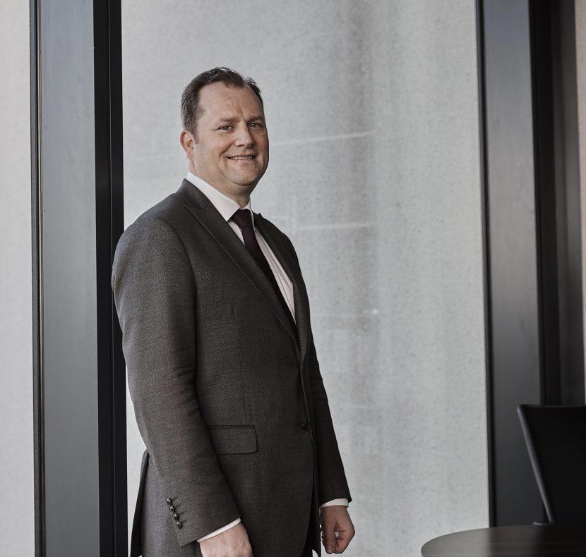 Muiris Lyons, Partner, Head of Clinical Negligence, Stewarts
