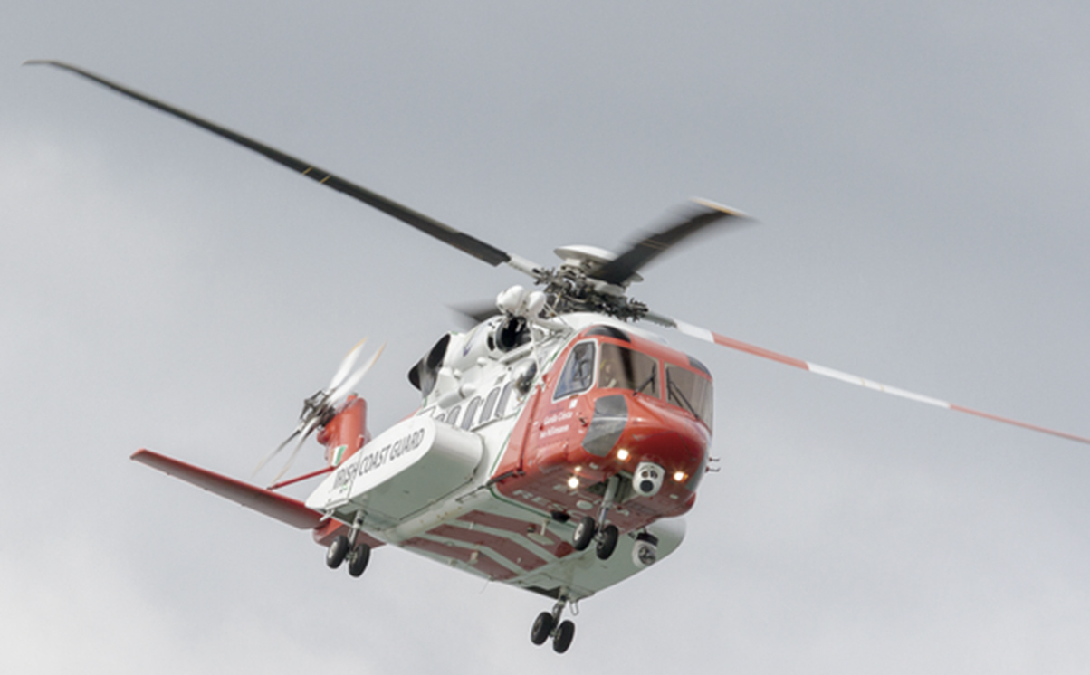 Sikorsky 92 Irish Coast Guard helicopter