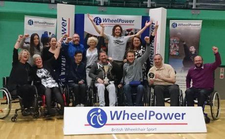 Wheelpower Inter Spinal Unit Games 2017 winner - Salisbury