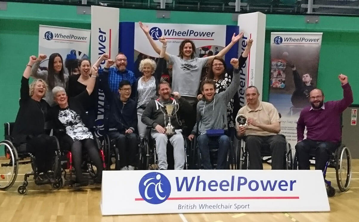 Wheelpower Inter Spinal Unit Games 2017 winner - Salisbury