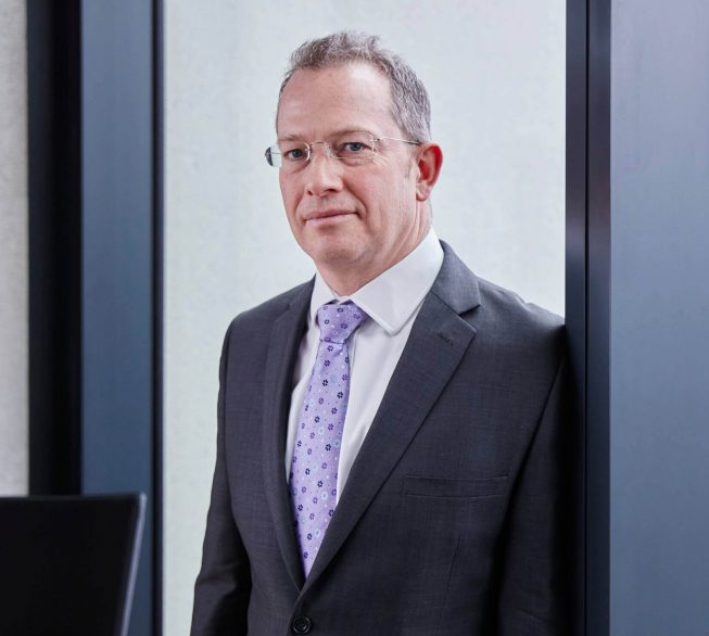 Keith Thomas, Partner, Head of Securities Litigation, Stewarts
