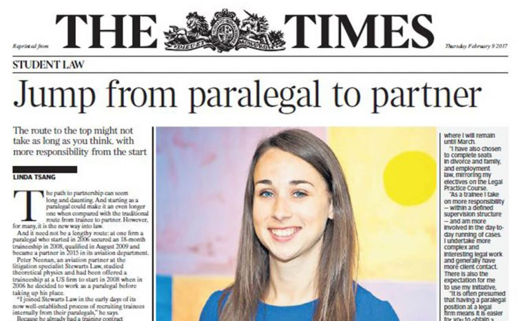 Frontpage of the Times