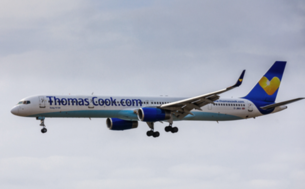 Thomas Cook Flight MT 519