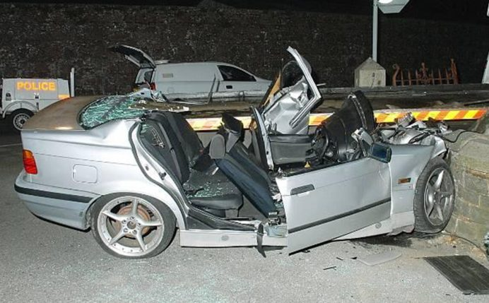 Road traffic accident in Jersey