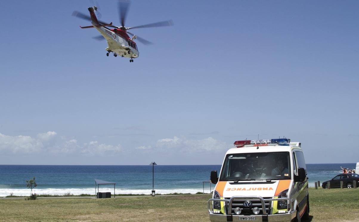 Injured abroad - Australia