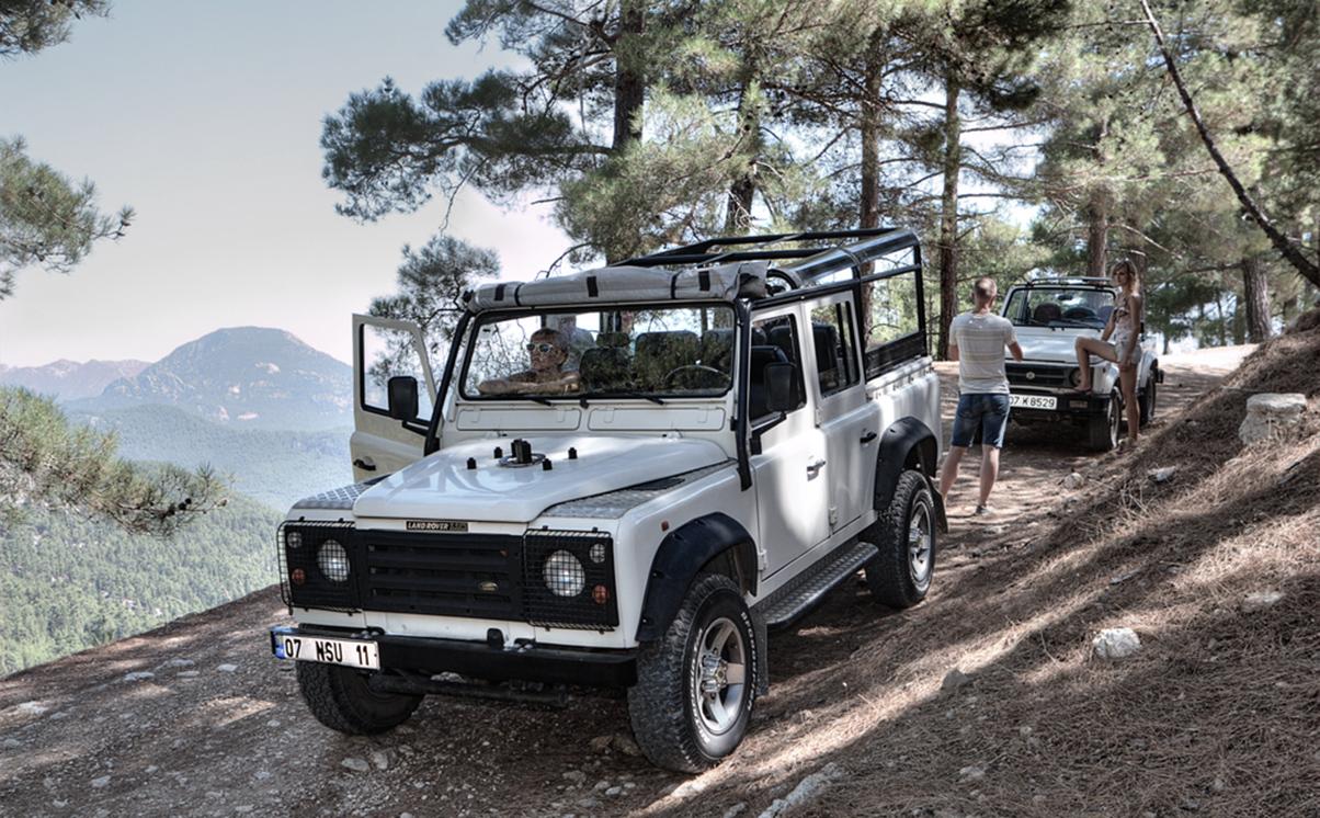 Jeep Accident Turkey