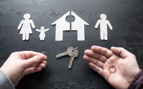 Divorce separating assets