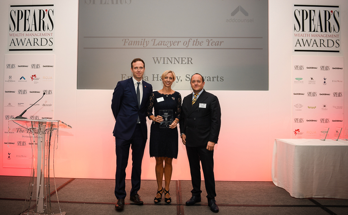 Emma Hatley awarded Spear's Family Lawyer of the Year