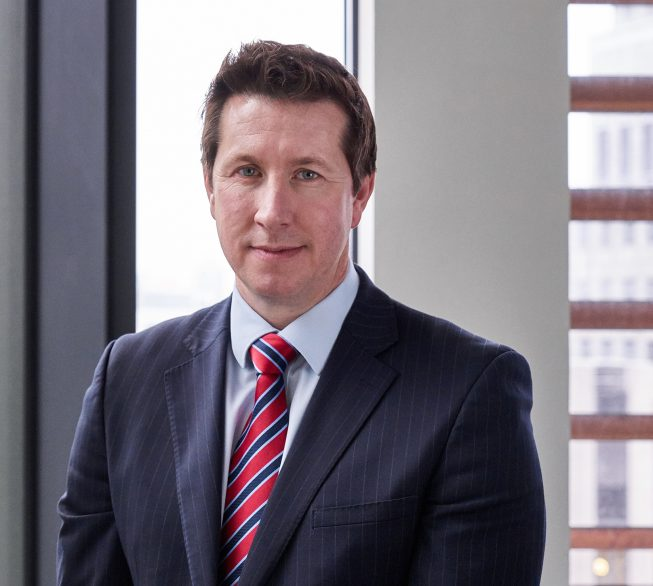 David Healy, Partner, Personal Injury, Stewarts