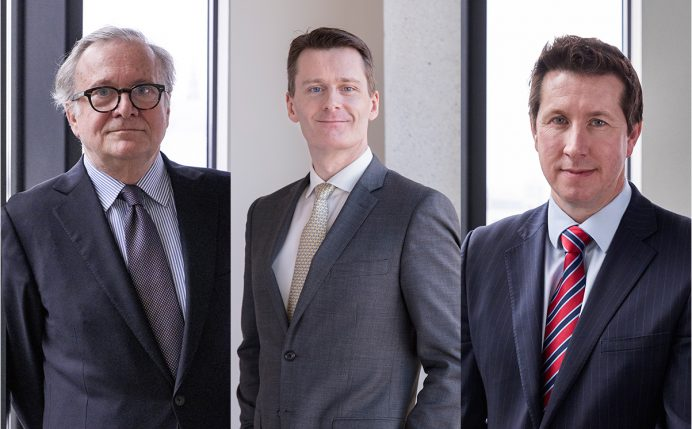 Patrick Dunaud, Victor Cramer and David Healy - Three New Stewarts partners
