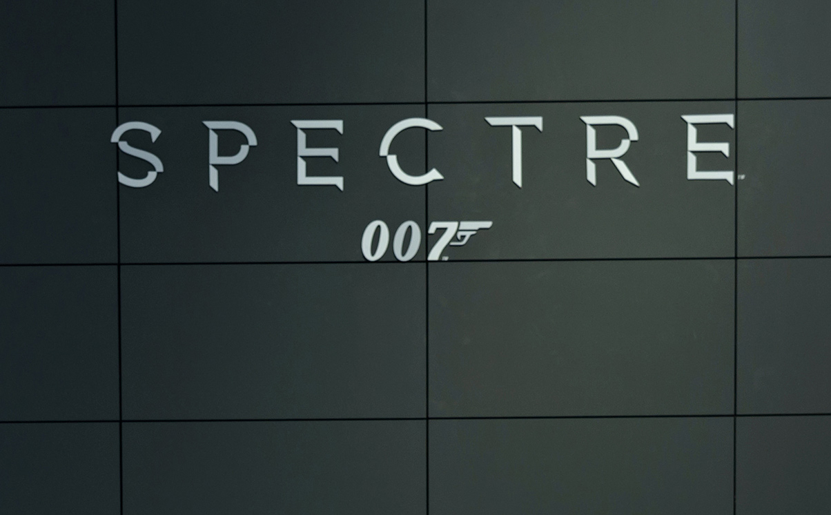 Spectre Bond film accident