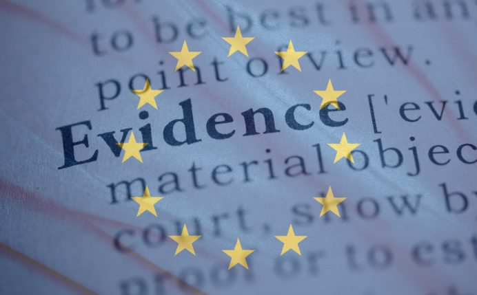 Evidence in cross border personal injury