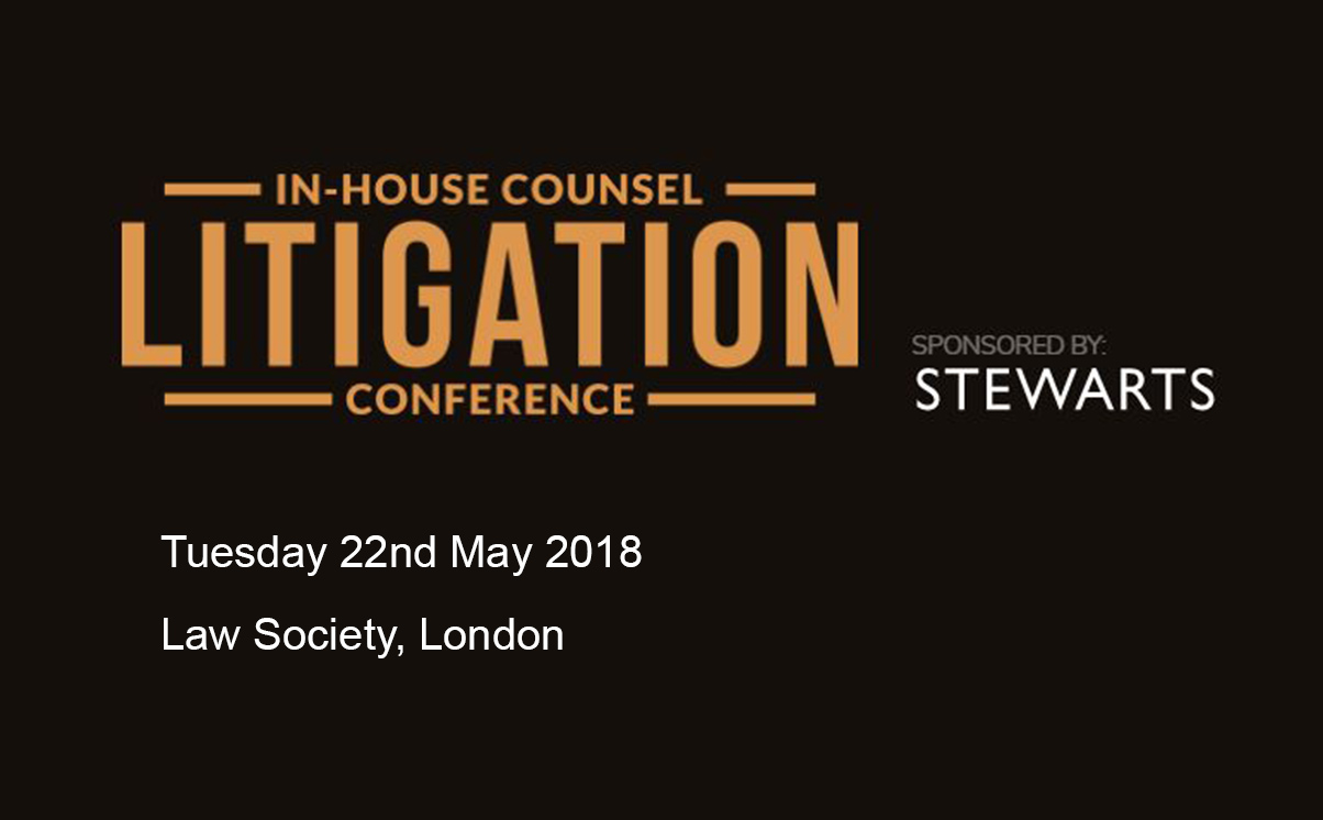In-house Counsel Litigation Conference 2018