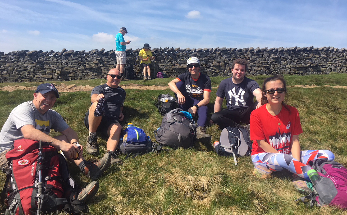 2nd Peak - Yorkshire 3 peak challeneg