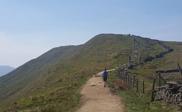 3 peaks challenge for Back Up Trust