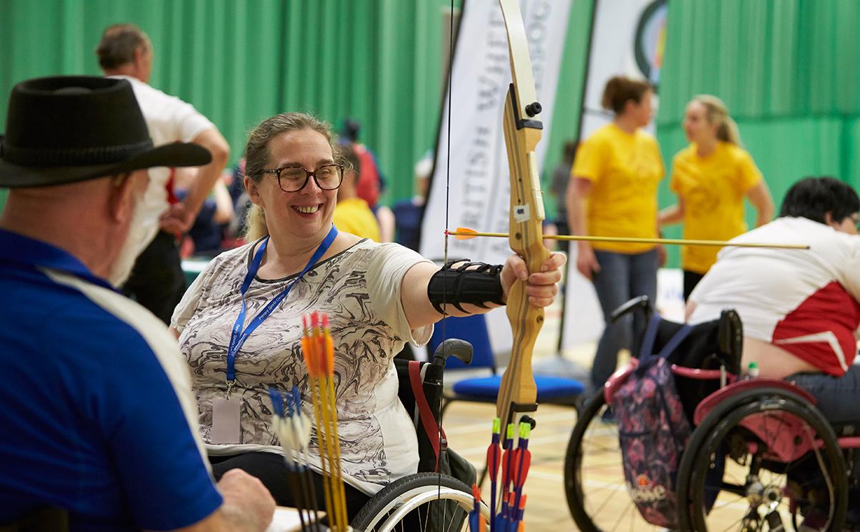 Archery at Wheelpower Games 2018