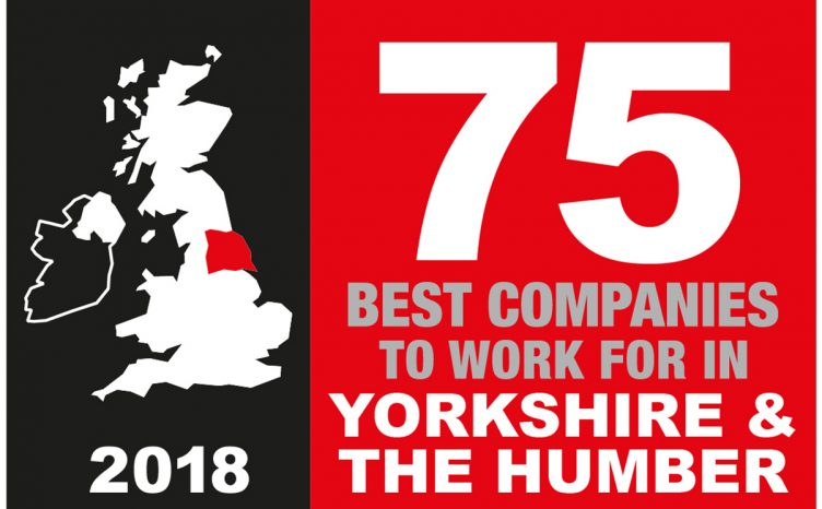 Best Companies to Work For - Yorkshire & The Humber 2018