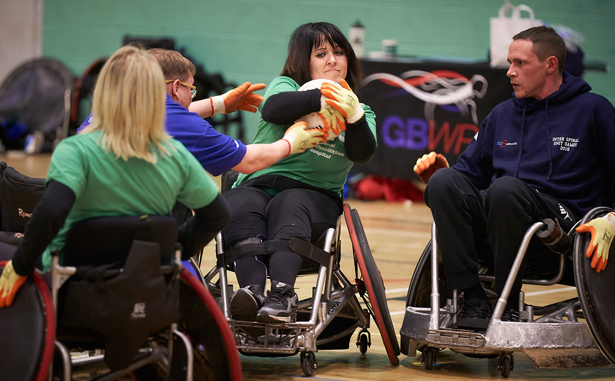 Wheelchair Rugby at Wheelpower Games 2018