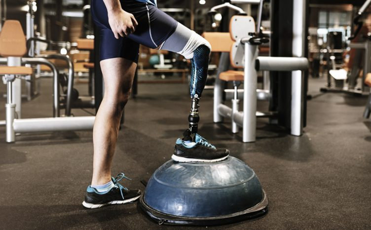Amputee gym workout - Prosthetic