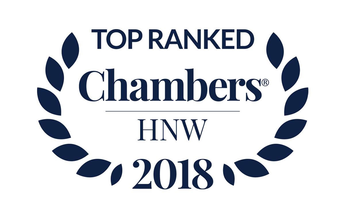 Chambers High Net Worth 2018 Top Ranked Stewarts