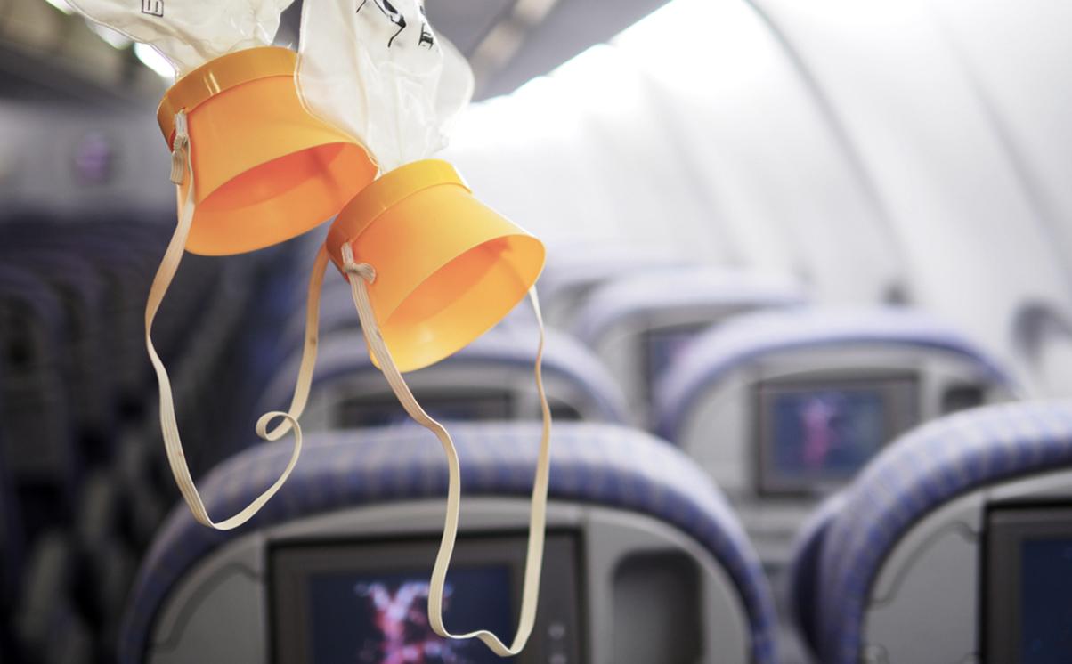 Aeroplane cabin decompression