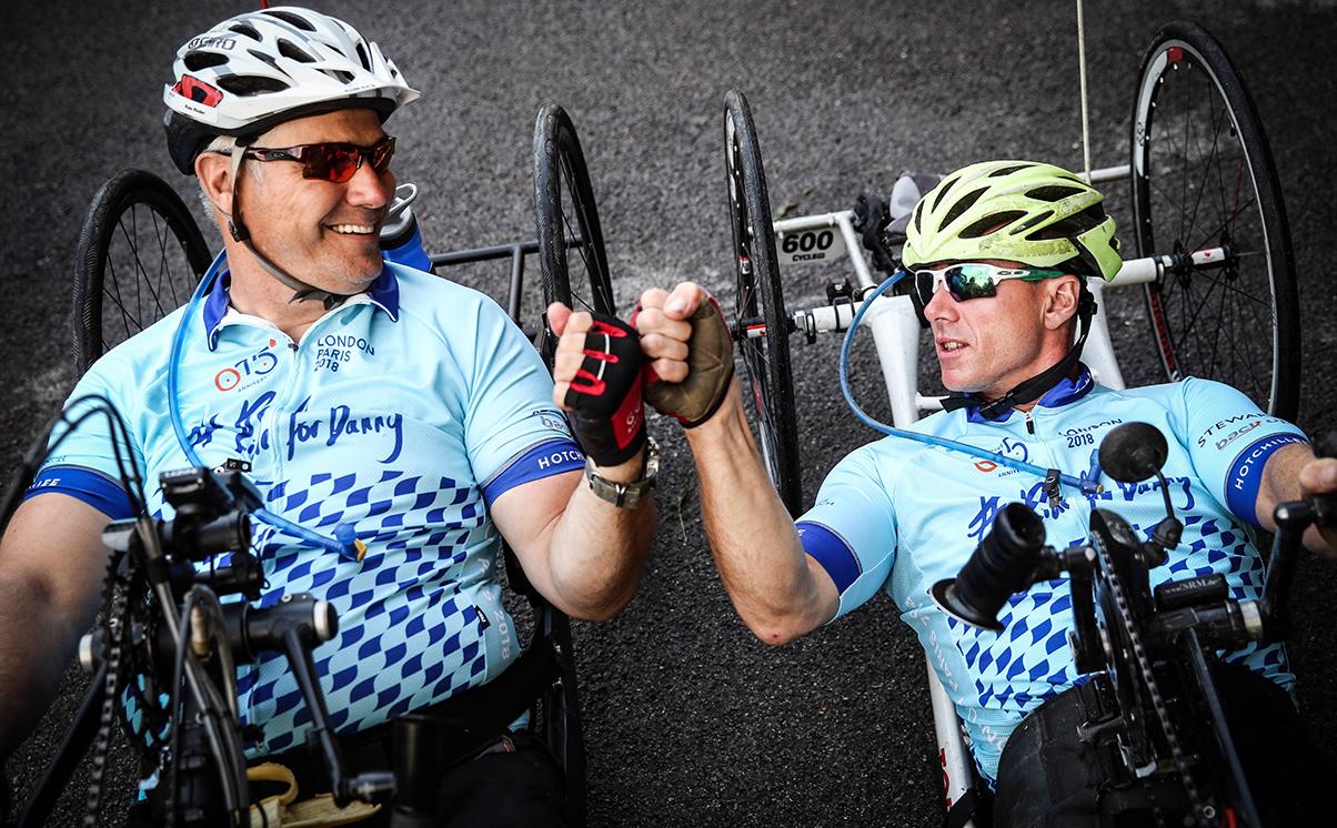 #ridefordanny hand cyclists