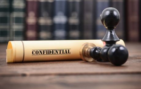 Confidential Court document