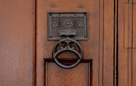 door to supremem court- editorial use only