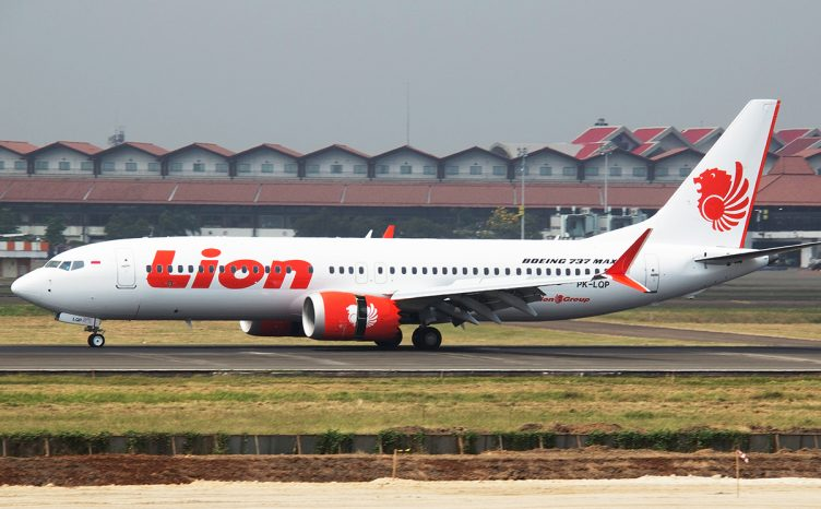 Lion Air Flight 610 Boeing 737 MAX 8