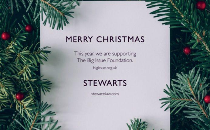 Stewarts Christmas Card 2018