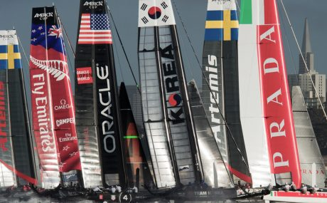 America's Cup Yacht Racing