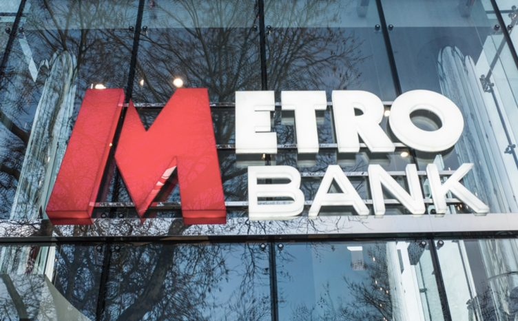 Metro bank logo - accounting error