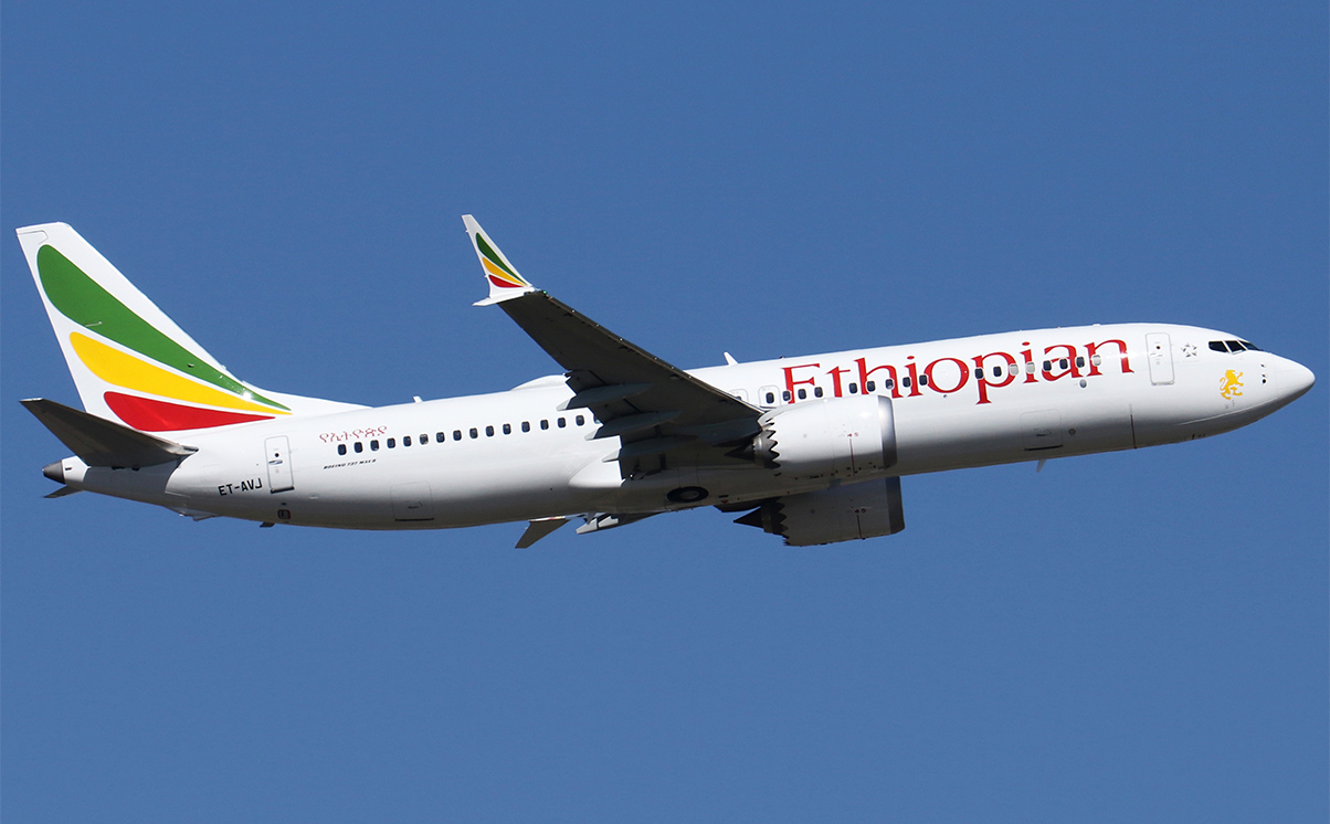 Ethiopian Airlines ET302 737 Max 8 ET-AVJ