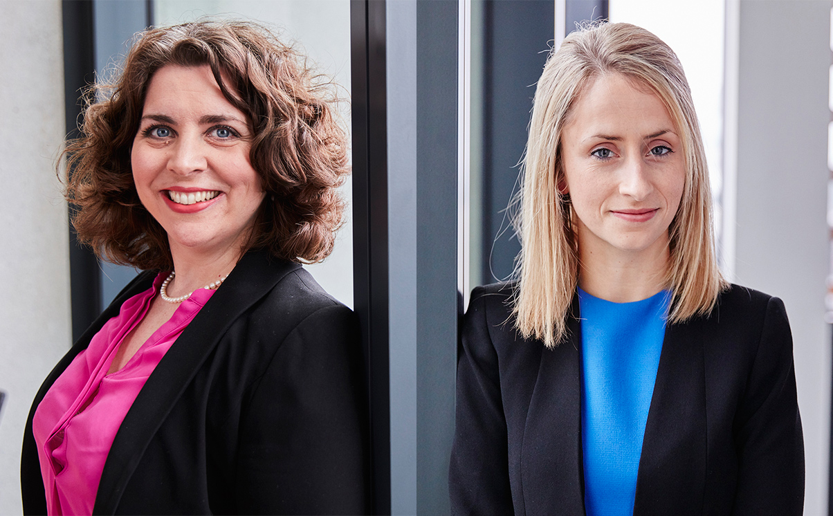 Philippa Charles and Veronica Connolly