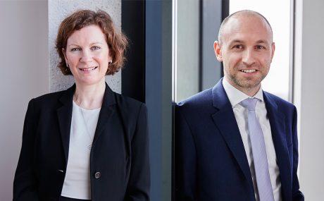 Sarah Stewart and Chris Deacon