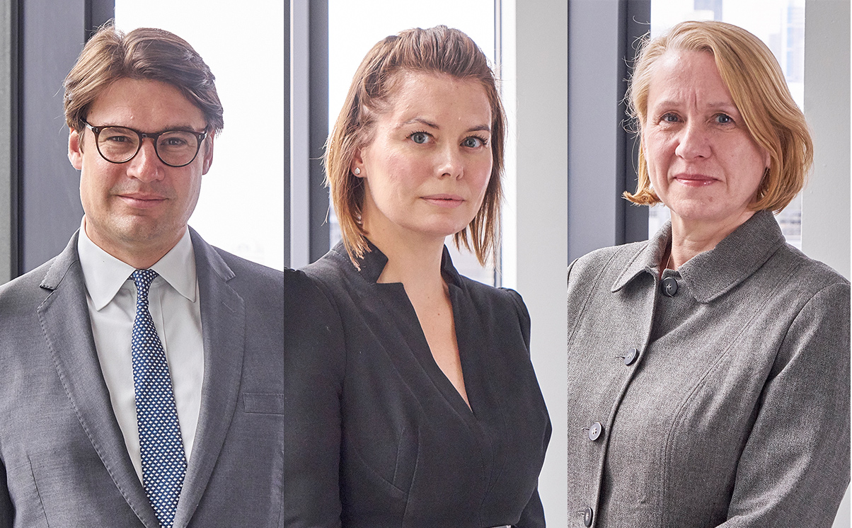 Stewarts New Tax Litigation and Investigations Personnel - James Le Gallais, Sarah Stenton, Lisa Vanderheide