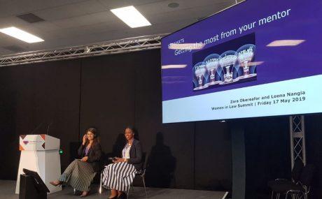 Leena Nangia and Zara Okereafor - Women in Law Summit