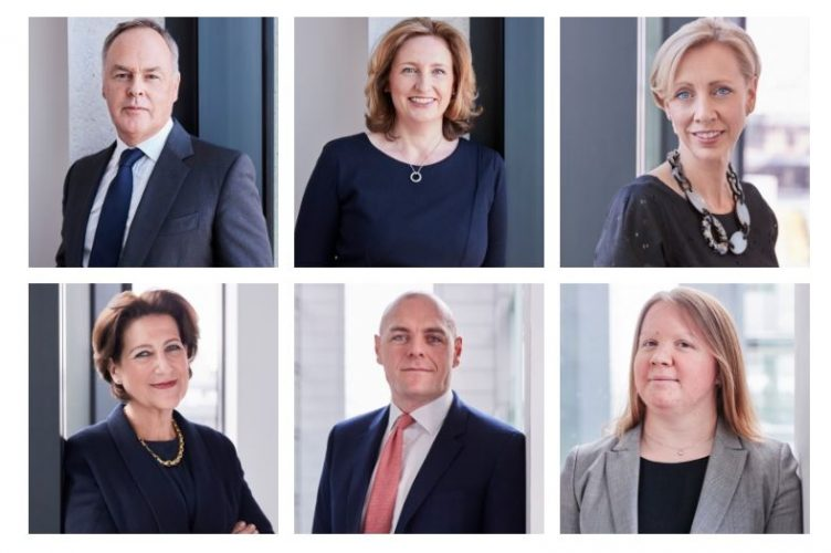 Spear's Family Law Index 2019 - Stewarts' six lawyers