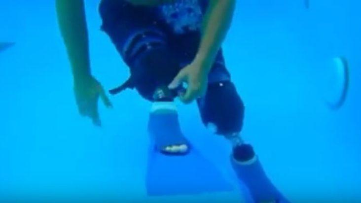 Shaun Whiter Swim Legs