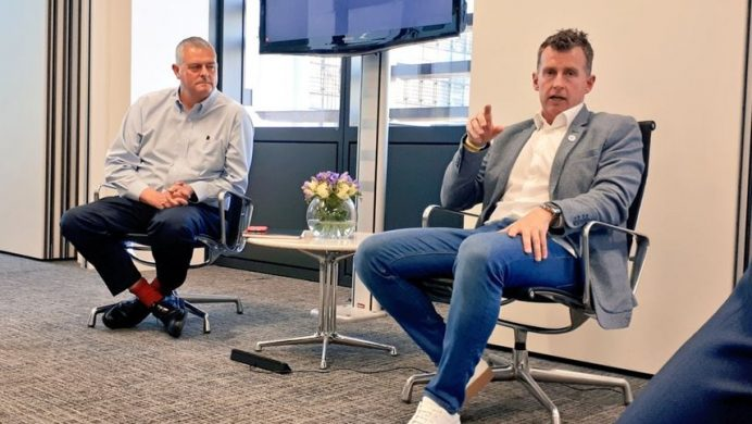 Nigel Owens interviewed by Ian Gatt QC