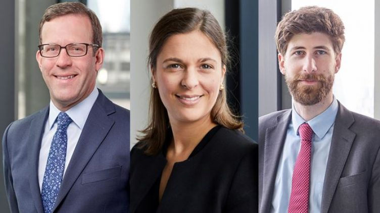 James Price, Emma Holland and Luca del Panta - trust and probate litigation