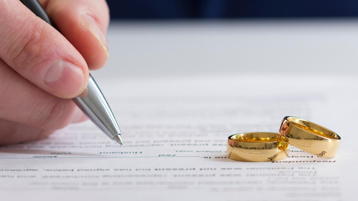 Divorce pre nup