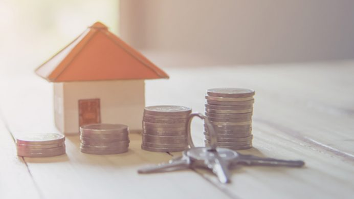 settlement - house, money and keys
