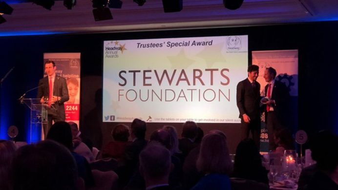 Stewarts Foundation -40th Anniversary of Headway