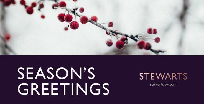 Stewarts Season's Greeting 2019