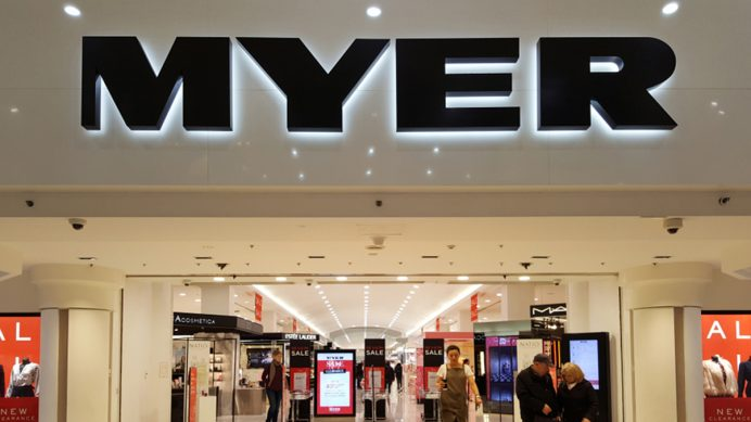 Myer department stores