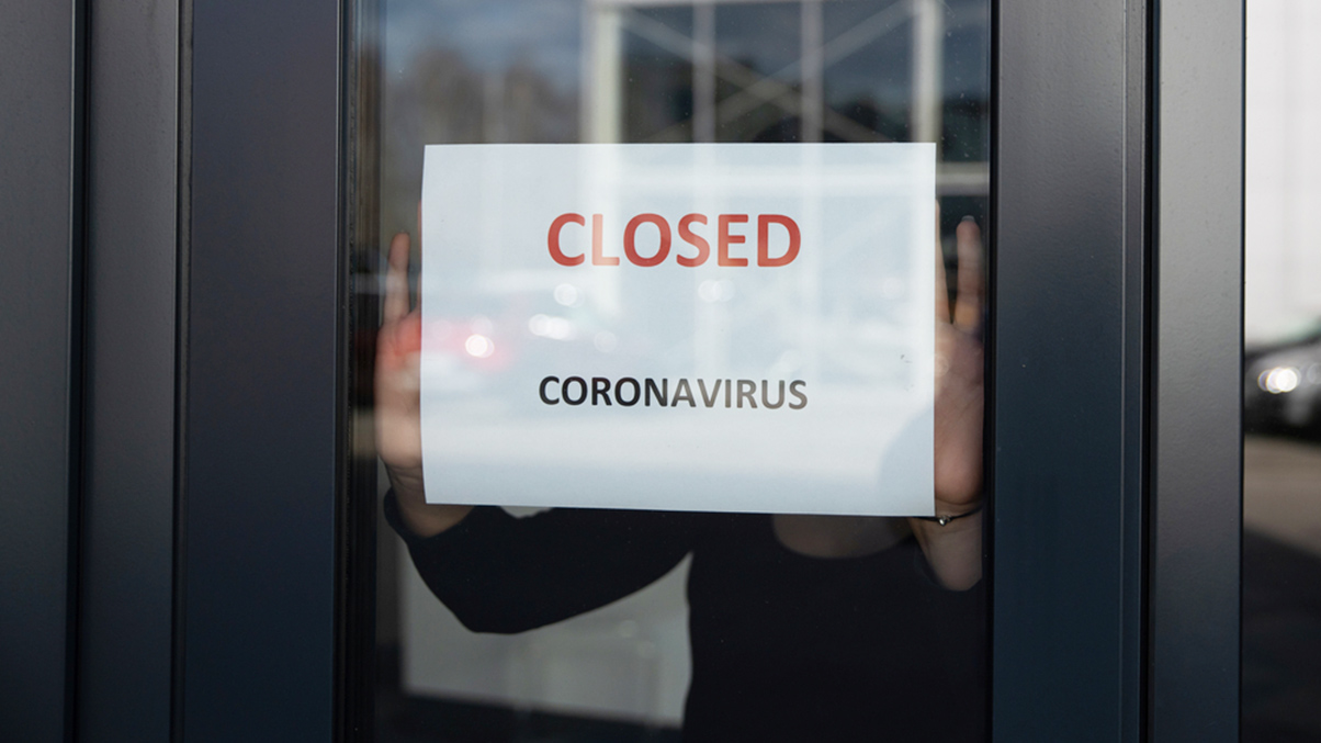 Corona - Closed business