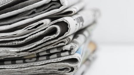 Newspaper stack - Media and privacy