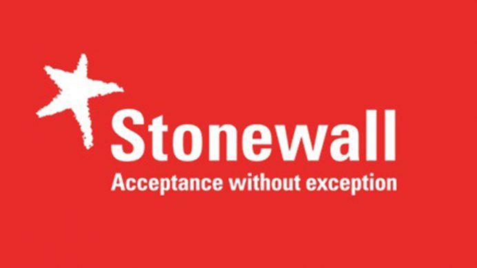 Stonewall UK Workplace Equality Index